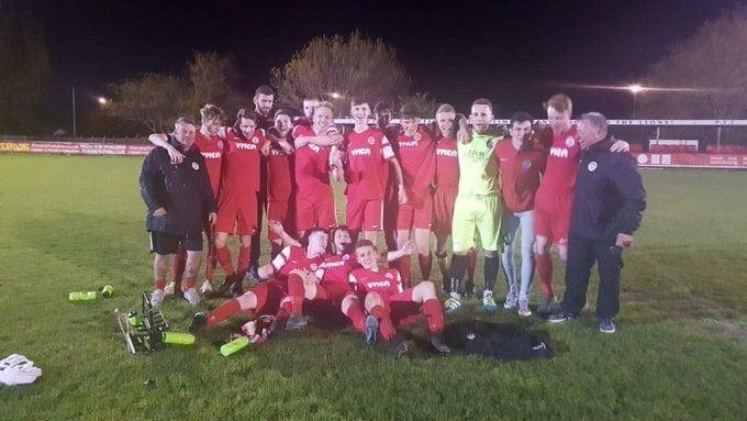 The winning squad!