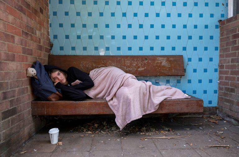 YMCA Bench Sleep 023